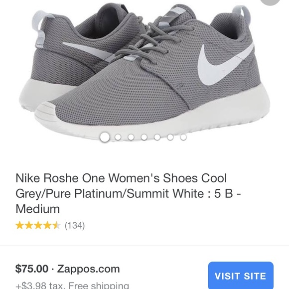 61537120bf06ce Gray Nike Roshe. M 5b428c5aa31c3399eb43eac6